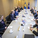 Visit to NATO by the Speaker of the Swedish Parliament