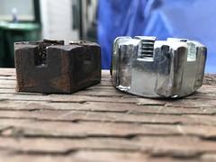 IMG_8296 (rat_fink) Tags: volvo 120 122 123 123gt amazon rearaxle castlenut spindle axle hub