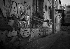 Dead End (disurbia) Tags: creativecommons urban city ciudad street calle santiago black monochrome distopia dystopia stgo streetphotography graffiti