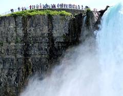 Big drop (thomasgorman1) Tags: falls nature horseshoe canada tourism travel canon people cliff