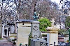 128 - Paris - Février 2019 - cimetière de Montmartre (paspog) Tags: paris france cimetière cemetery friedhof cimetièredemontmartre montmartre février februar february 2019