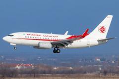 7T-VKS | Air Algérie | Boeing 737-7D6C | BUD/LHBP (Tushka154) Tags: hungary spotter 737nextgeneration ferihegy budapest 737700 7377d6c 737700c airalgérie 7tvks boeing 737 737ng aircraft airplane aviation convertible lhbp lisztferencinternationalairport planespotter planespotting
