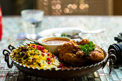 Bayer Polo with Chicken (Thanathip Moolvong) Tags: singapore centralregion sg shabestan persian lunch