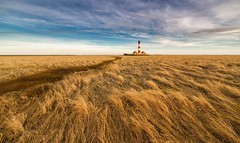 The Lighthouse 3 (dietmargötte) Tags: clouds sky nature leuchtturm germany schleswigholstein travelphotography canon 14mm northsee landschaft landscape architecture nordsee spo sanktpeterording westerheversand