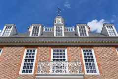 Governor's Palace (HJharland5) Tags: williamsburg architecture window buildingexterior history builtstructure europe facade cultures house germany famousplace old roof outdoors sky urbanscene town city travel blue