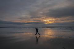 (Rob Chiu) Tags: kaeden wales newyears beach sunset run nikon nikkor nikond850 24mm14 borth northwales