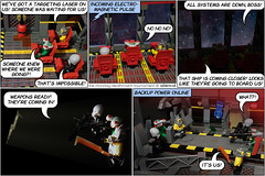 The Monday Deathmatch Tournament - Page 11 - Space Police Intro (Aliencat!) Tags: lego comic space police squidman