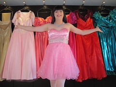Colourful dresses (Paula Satijn) Tags: dress gown dresses skirt satin shiny colourful colours colors colorful girl lady sweet cute pretty elegant joy fun happy smile pink beads babe collection ballgown silk silky adorable feminine beauty miniskirt