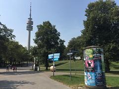 München/Munich, Germany, 2018 (From Manhattan to Havana) Tags: münchen munich bavaria bayern deutschland germany saksa olympiaturm olympictower olympiapark park lillian board hannes kolehmainen