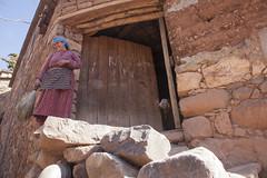 IMG_9469 (eckkheng) Tags: asni door headscarf woman goat morocco berber