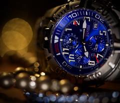timepiece (johnsinclair8888) Tags: festina macromondays timepiece d850 105 bokeh watch pearls johndavis dof art blue