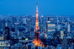 Tokyo Tower from Roppongi Hills (Joshua Mellin) Tags: japan travel traveling joshuamellin writer photographer journalist blogger 2019 risingsun asia cnntravel assignment visiting photo photos photography pic picture pictures best tips destination flights olympics2020 olympics tokyoolympics 2020 instagram twitter socialmedia editor tokyo tokyojapan pics photograph photographs iconic location cnn social media joshmellin josh joshua mellin chicagobased chicago story