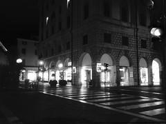 City Nightscape,Black&White...in EXPLORE,Mar 12, 2019 #324 (mirella cotella) Tags: blackwhite streets city geometries lights lines nightscapes landscapes exploremar122019324 explored