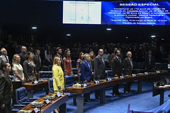Plenário do Senado (Senado Federal) Tags: plenário sessãoespecial 110anosdecriação diretoriadeindústriaanimal 36anos abramvet 99anos sbmv médicaveterinária bancada paineleletrônico brasília df brasil bra