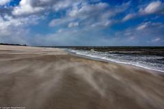 Sylt - Strand bei Ostwind Stärke 5-6 am 17.3.2018 (J.Weyerhäuser) Tags: buhnen eis märz2018 ostwind sturm sylt winter
