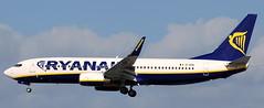 Boeing 737-8AS EI-EPA (707-348C) Tags: dublinairport dublin eidw passenger airliner jetliner boeing boeing737 ryanair ireland ryr dub 2011 b738 delivery eiepa
