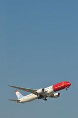 DI7181 LGW-AUS (A380spotter) Tags: takeoff departure climbout gearinmotion gim retraction belly boeing 787 9 900 dreamliner™ dreamliner gckof joanmiróspanishartist norwegiancom norwegainairukltd nrs di di7181 lgwaus runway08r 08r london gatwick egkk lgw