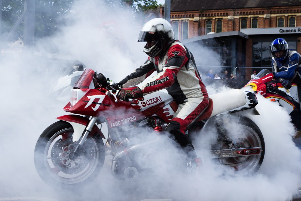 The World's Best Photos of motorcycle and smoke - Flickr