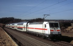 146 559  bei Eutingen  23.02.19 (w. + h. brutzer) Tags: eutingen 146 eisenbahn eisenbahnen train trains deutschland germany railway elok eloks lokomotive locomotive zug ic db webru analog nikon