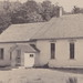 NW Bingham Suttons Bay Leelanau MI RPPC c.1908 THE BINGHAM SCHOOL Building with the School Bell to call in the kids Barn out back to house the horse drawn wagon school bus and the teachers buggy4
