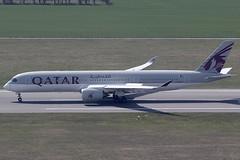 Qatar Airways Airbus 350-941 A7-ALF (c/n 0011) (Manfred Saitz) Tags: vienna airport schwechat vie loww flughafen wien qatar airways airbus 350900 a359 a350 a7alf a7reg