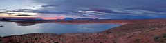 Lake Powell Sunrise (b737yyc) Tags: sunrise lake powell lakepowell az page clouds pano panorama