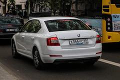 Russia (Pskov) - Skoda Octavia (PrincepsLS) Tags: russia russian license plate 60 pskov germany berlin spotting skoda octavia