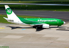 GERMANIA B737 D-AGER (Adrian.Kissane) Tags: 28107 germania dusseldorf dager b737