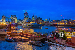 Twilight River - London, UK (davidgutierrez.co.uk) Tags: london photography davidgutierrezphotography city art architecture nikond810 nikon urban travel color night blue uk towerbridge photographer tokyo paris bilbao hongkong sunset neon londonphotographer building street colors colours colour europe beautiful cityscape davidgutierrez structure d810 contemporary arts architectural design buildings centrallondon england unitedkingdom 伦敦 londyn ロンドン 런던 лондон londres londra capital britain greatbritain tamronsp2470mmf28divcusdg2 2470mm tamron streets streetphotography tamronsp2470mmf28divcusd tamron2470mm vibrant edgy vivid thames