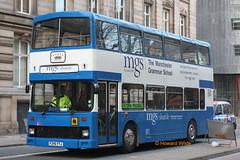 King, Dukinfield F240 YTJ (SelmerOrSelnec) Tags: king dukinfield leyland olympian alexander rtype f240ytj merseysidetransport merseybus bus manchestergrammarschool mgs shuttleservice