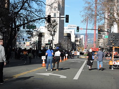 End of Rally, Blocked Streets; Kamala Harris For the People (xaviergardens) Tags: 2020presidentialelection ussenatorkamalaharris democraticparty oakland oaklandcityhall california
