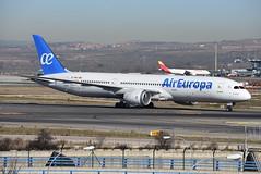EC-MSZ (Ian Macadam) Tags: 06012019 lemd madrid barajas adolfo suárez boeing 787 9 air europa dreamliner ecmsz