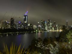 Brisbane City taken from Kangaroo Point Cliffs Qld (Paul Leader - Paulie's Time Off Photography) Tags: brisbane queensland qld australia night kangaroopoint longexposure olympus olympusem10 paulleader landscape nightscape