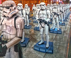 We are Ready (albatta.ihab) Tags: stars wars starwars film concept toy soldier gun mall dubai uae together tourisme cooo nice cool inside indoor travel