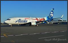 "N519AS Alaska Airlines "" Incredibles 2"" (Bob Garrard) Tags: n519as alaska airlines incredibles boeing 737 anc panc"
