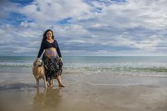 Fotos para Esther #19 (Héctor Rodríguez Maciá) Tags: sanjuan alicante españa spain playa mar costa mediterráneo arena embarazo embarazada perro