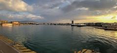 PIRAEUS central port panoramic (spicros78) Tags: iphone8plus panoramic winter port sea piraeus centralport