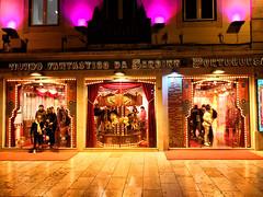 Sardine World - in colour (PeterAitch) Tags: lisbon lisboa march 2019 urban street night cameraphone cityscape icon
