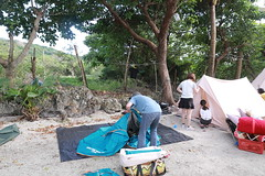 IMG_7302 (諾雅爾菲) Tags: taiwan camping 台灣 墾丁 露營 香蕉灣原始林露營區 熊帳 coleman 印地安帳