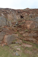 Cliffs,Collieston_Mar 19_451 (Alan Longmuir.) Tags: grampian aberdeenshire collieston cliffs