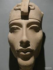 Akhenaten (Amenhotep IV), Luxor Museum (4).JPG (tobeytravels) Tags: thebes egypt amonispleased aten usefulforaten newkingdom sandstone eastkarnak