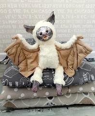 My new handmade beast Benny Moon (ArtCat80) Tags: polymerclay handmade handmadetoys toys beasts beast bat