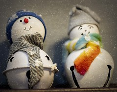 2018-12-29 Christmas bells are...snowmen? (Mary Wardell) Tags: bells snowman snowmen crafts colors colorful christmas justforfun canon80d