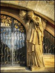 Grieving.... (Sherrianne100) Tags: museum battlefield napoleon weeping sculpture battleofausterlitz cairnofpeacememorial czechrepublic