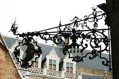 . (just.Luc) Tags: sign uithangbord enseigne metal metaal brugge bruges vlaanderen westvlaanderen flandres flanders belgië belgien belgique belgium belgica