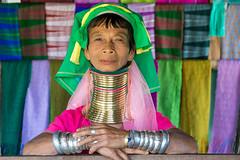 The Kayan women of Inle Lake Myanmar (Kathy~) Tags: myanmar burma kayan kayanwoman woman lady fc rings neckrings