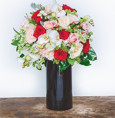 What a perfect way to spoil a loved one. Our True Love vase is a wonderful spectacle of Red Roses, pastel roses, orchids and gorgeous seasonal flowers. Click the link in our bio to order a beautiful gift this Valentine's Day ❤❤❤ . . #par (parsleyandsage11) Tags: orchidsofinstagram romance valentinesday2019 shoplocal valentinesdaygifts supportsmallbusiness redroses valentinesdaygiftideas valentinesdaygift orchids flowersofinstagram valentinesdayflowers parsleyandsageflorist valentines rose orchidlove valentinesday stokeontrent roses