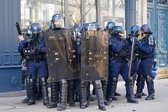Under Attack | Gilets Jaunes Acte XIV | Paris France (Paul Tocatlian | Happy Planet) Tags: giletsjaunes yellowjackets paris france protest protests protesters street streetphotography candid candidphotography