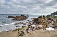 Rock pools at Cawsand, Cornwall (Baz Richardson) Tags: cornwall cawsand beaches rocks plymouthsound ramepeninsula rockpools coast