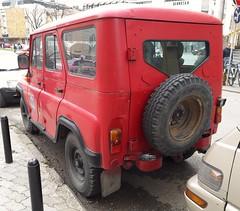 1987 UAZ 469 Firefighter (FromKG) Tags: uaz 469 firefighter red car suv kragujevac serbia 2019